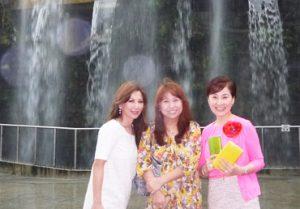 松居一代 成田和美 旅行画像