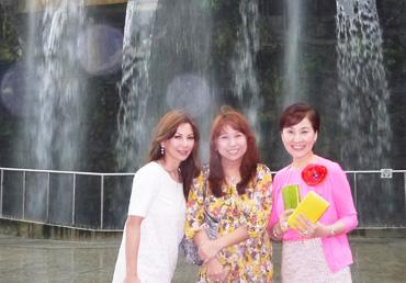 松居一代 成田美和 旅行画像